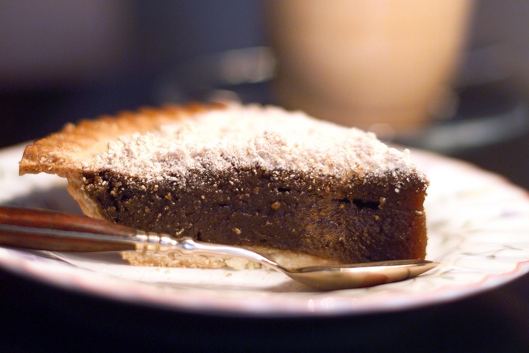 Dairy-Free Shoofly Pie is Just Like the ClassicWet-Bottom Recipe - also nut-free and optionally soy-free