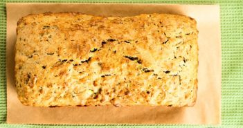 James Beard's Zucchini Bread Recipe with Extra Vanilla and Cinnamon - Naturally Dairy-Free; Nut-Free Option