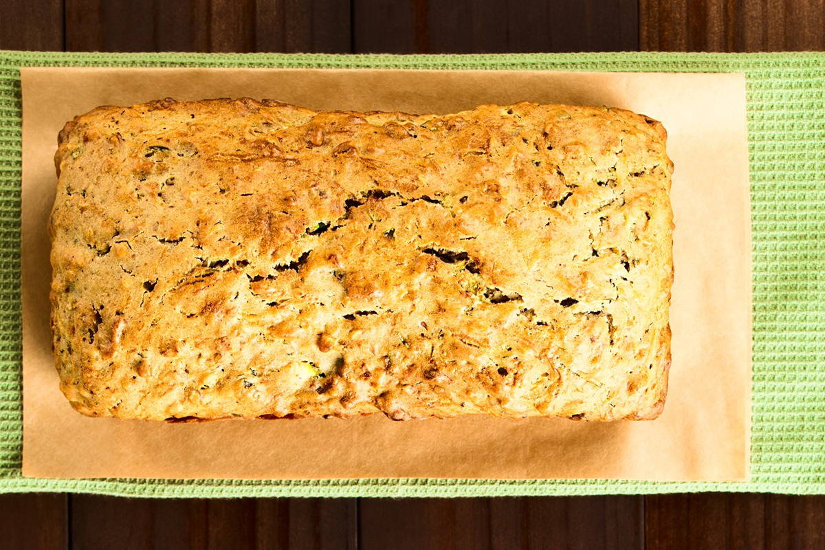 James Beard's Zucchini Bread Recipe with Extra Vanilla and Cinnamon - Naturally Dairy-Free; Nut-Free Option