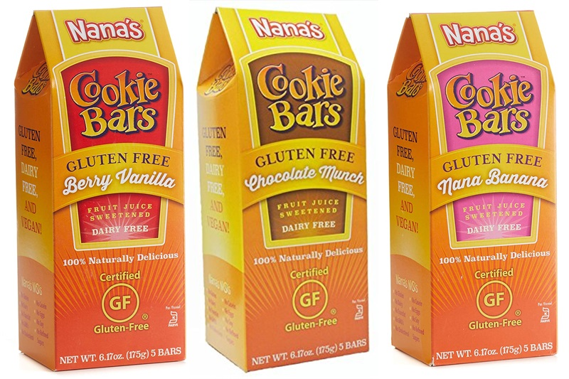 Nana's Cookie Bars Reviews and Info - Gluten-free, Vegan