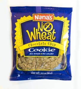Nana's Cookies Reviews and Info - all dairy-free and vegan with original wheat, wheat-free, and gluten-free varieties