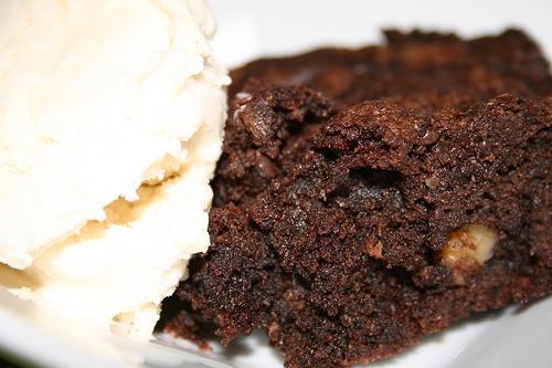 Nut Studded Brownie Bars
