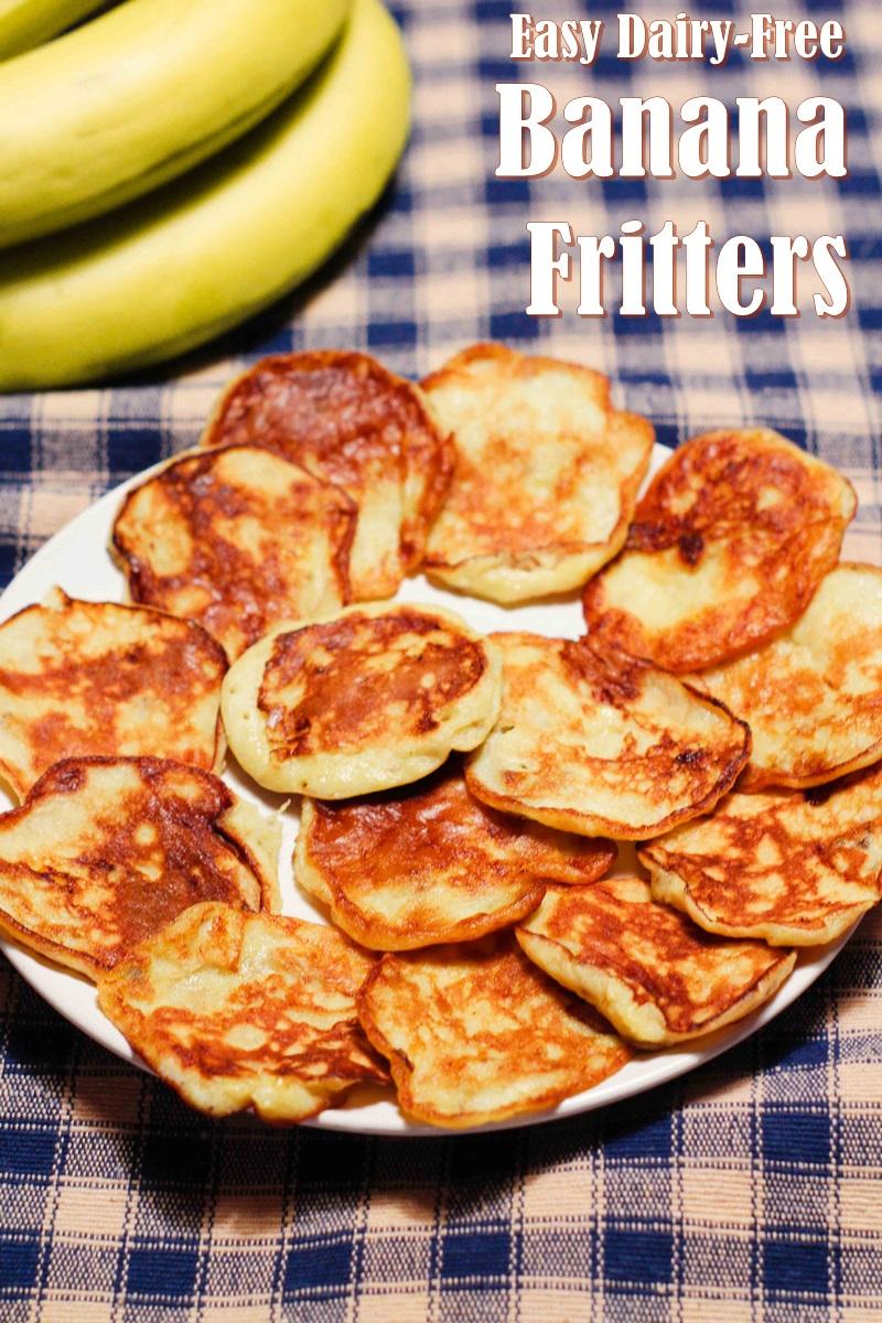 Banana Fritters Recipe Dairy Free Nut Free