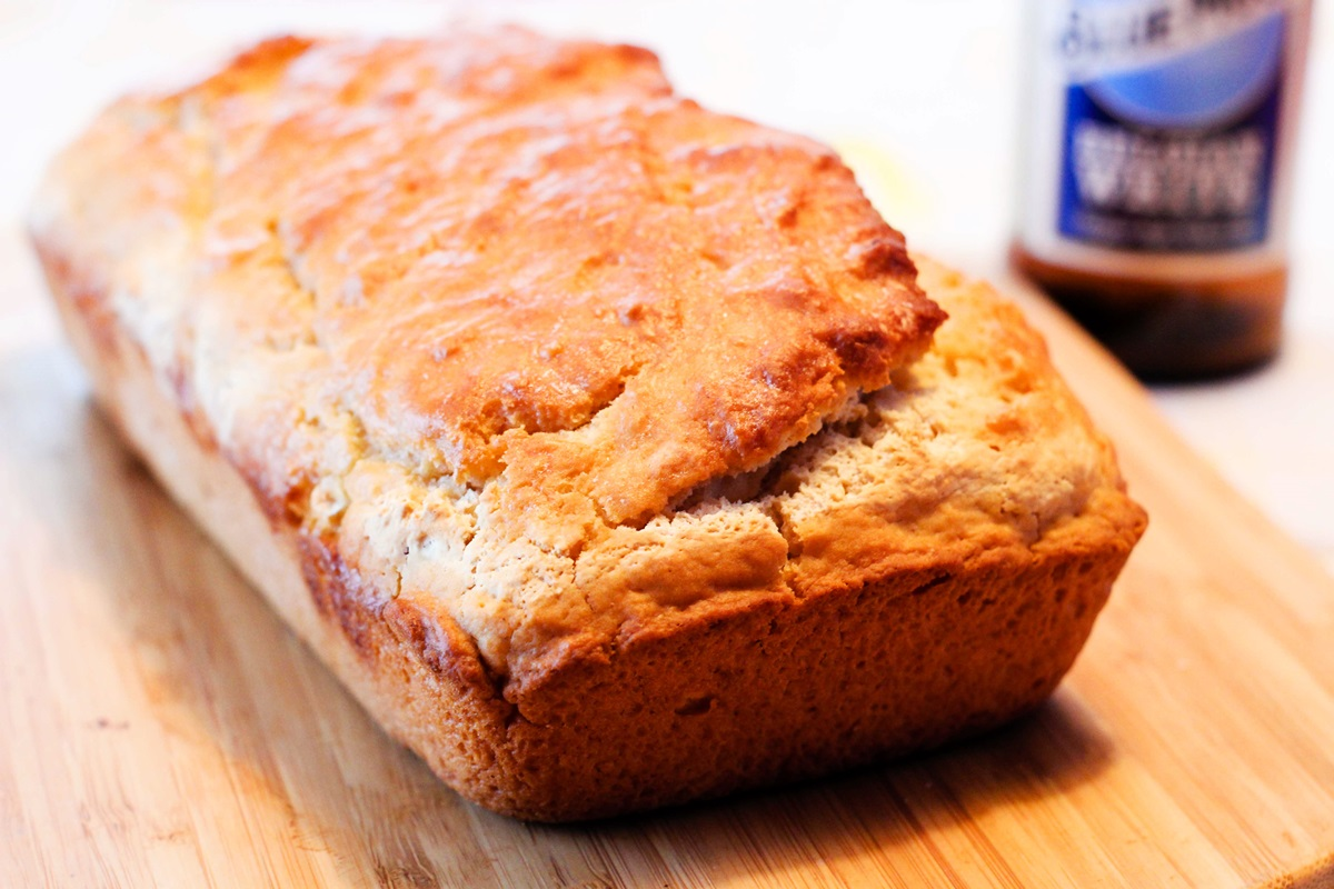 Beer Bread Recipe - naturally dairy-free, vegan, and so, so easy! (includes alcohol-free options)