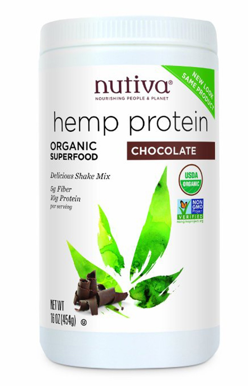 Nutiva Organic Hemp Protein Powders and Hempshakes (Chocolate & Vanilla) - all dairy-free, vegan and soy-free