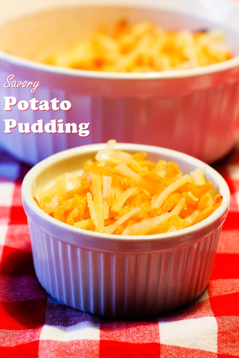 Savory Potato Pudding Recipe - A dairy-free, gluten-free, vegan family favorite