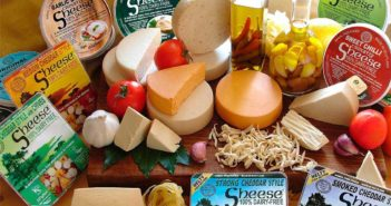 Sheese Dairy Free Cheese Alternative (Review) - Slice-able Vegan Cheese Blocks in numerous flavors.