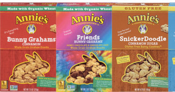 Annie's Homegrown Bunny Grahams - the perfect whole grain dairy-free snack for kids or adults on the go!