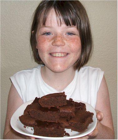 Choc Mint Brownies