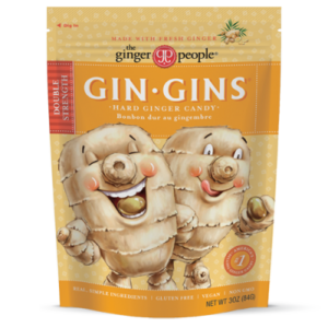 The Ginger People Gin Gins Candies - Hard and Chewy - various flavors and strengths, all dairy-free. Reviews and Info.