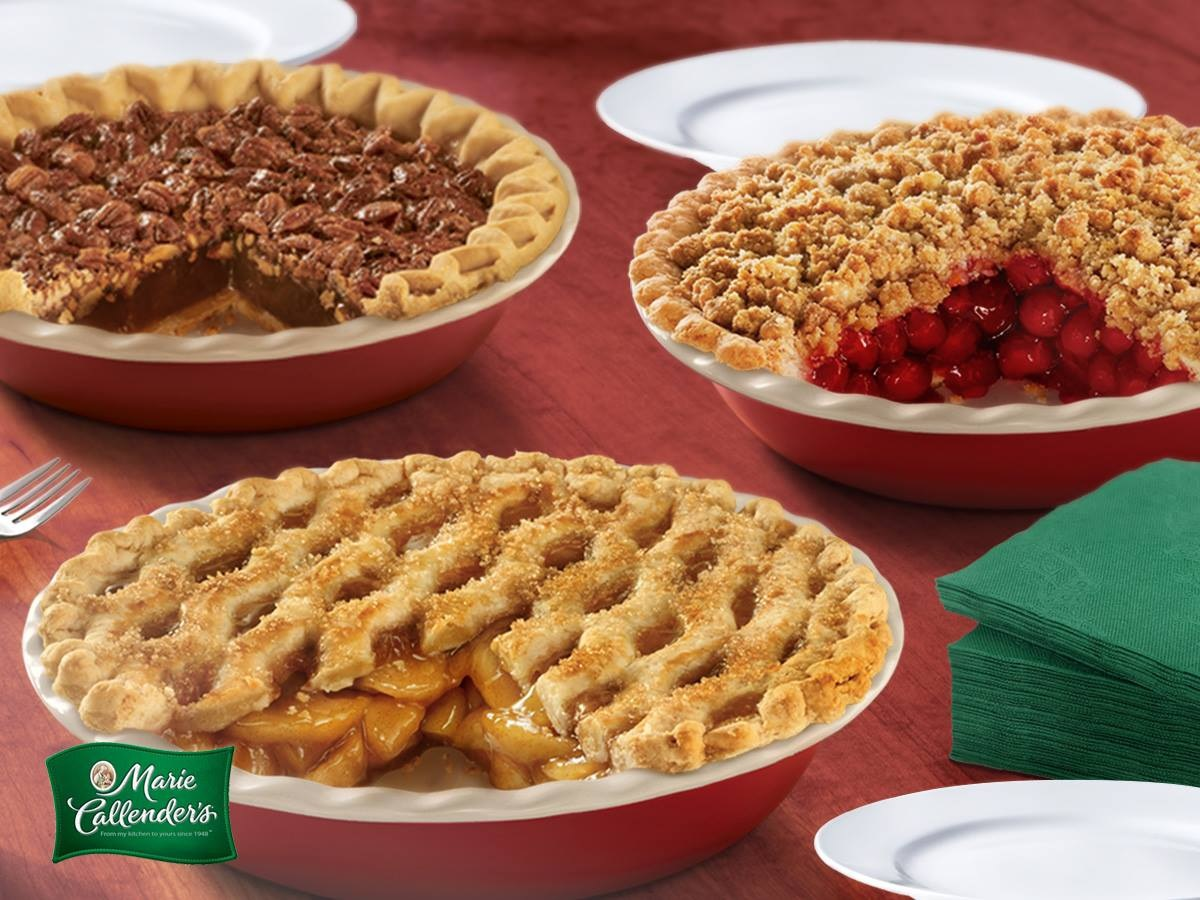 Marie Callender's Frozen Pies Reviews and Info: Dairy-Free Varieties (most are also vegan, egg-free, and nut-free). Pictured: Trio