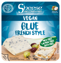 """Sheese Vegan Cheese Blocks, Wedges, and Grated Shreds - dairy-free """"hard cheese"""" alternatives in over a dozen flavors."""