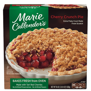 Marie Callender's Frozen Pies Reviews and Info: Dairy-Free Varieties (most are also vegan, egg-free, and nut-free). Pictured: Cherry Crunch Pie