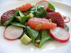 Mexican Citrus Salad w/ Orange-Lime Vinaigrette