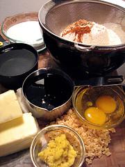 Gram Danning's Ginger Cream Slices