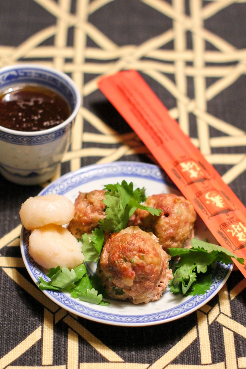 Asian Meatballs with Sesame Lime Dipping Sauce Recipe - dairy-free, with gluten-free, egg-free, and soy-free options + turkey option