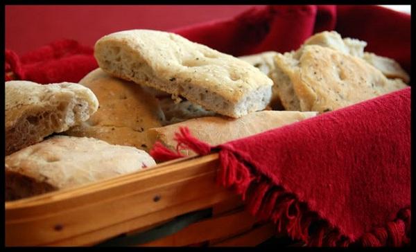 Basic Foccacia Bread