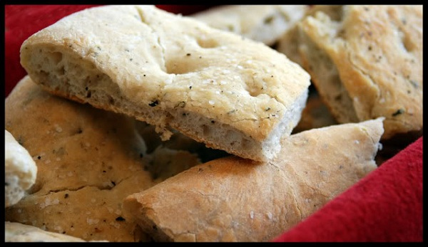 Basic Foccacia Bread