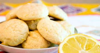 Glazed Lemon Cookies Recipe - dairy-free, delicious, family-friendly cookies for the holidays and beyond.