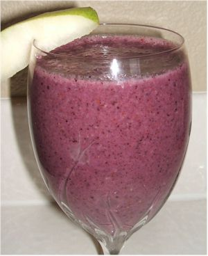 Bananaberry smoothies