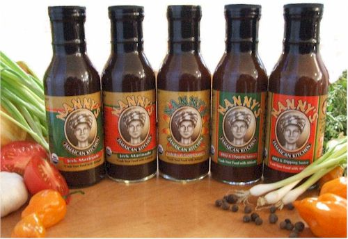 Nanny's Jerk Marinades and Barbecue Sauces