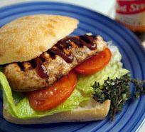 Nanny's Jamaican Jerk Chicken Sandwich