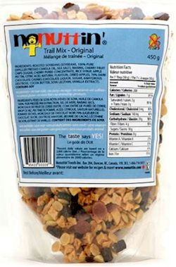 Nonuttin Trail Mix
