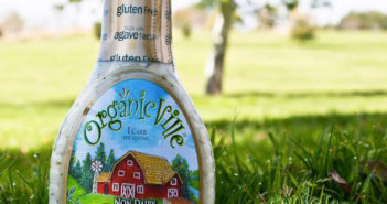 Organicville Non-Dairy Ranch is just as creamy and delicious as regular ranch dressing, but vegan, gluten-free, and organic
