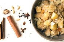 Dairy-Free Apple Cinnamon Couscous Recipe - fruit-sweetened, plant-based, and optionally allergy-friendly