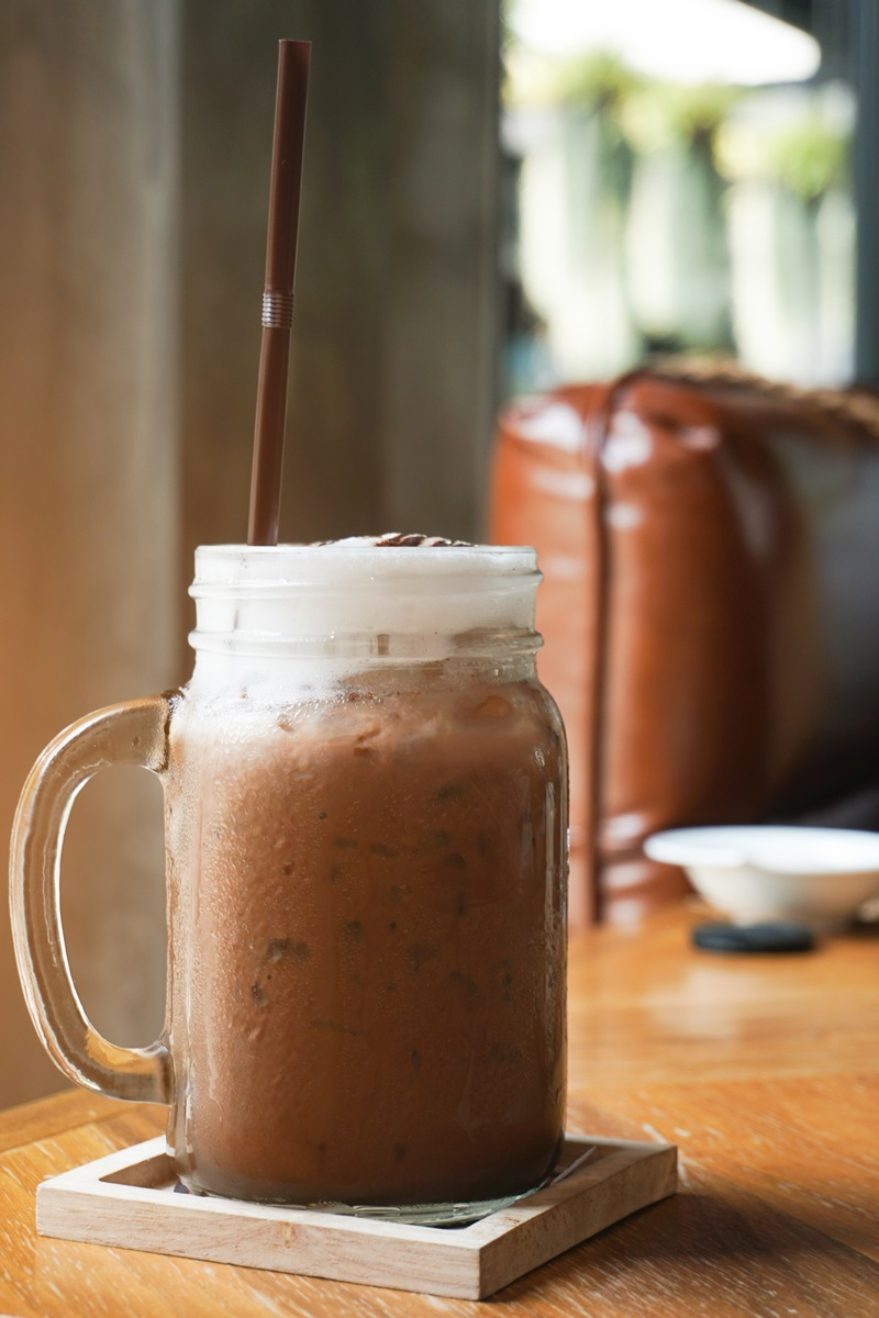 Dairy-Free Iced Cocoa Recipe - also vegan and allergy-friendly