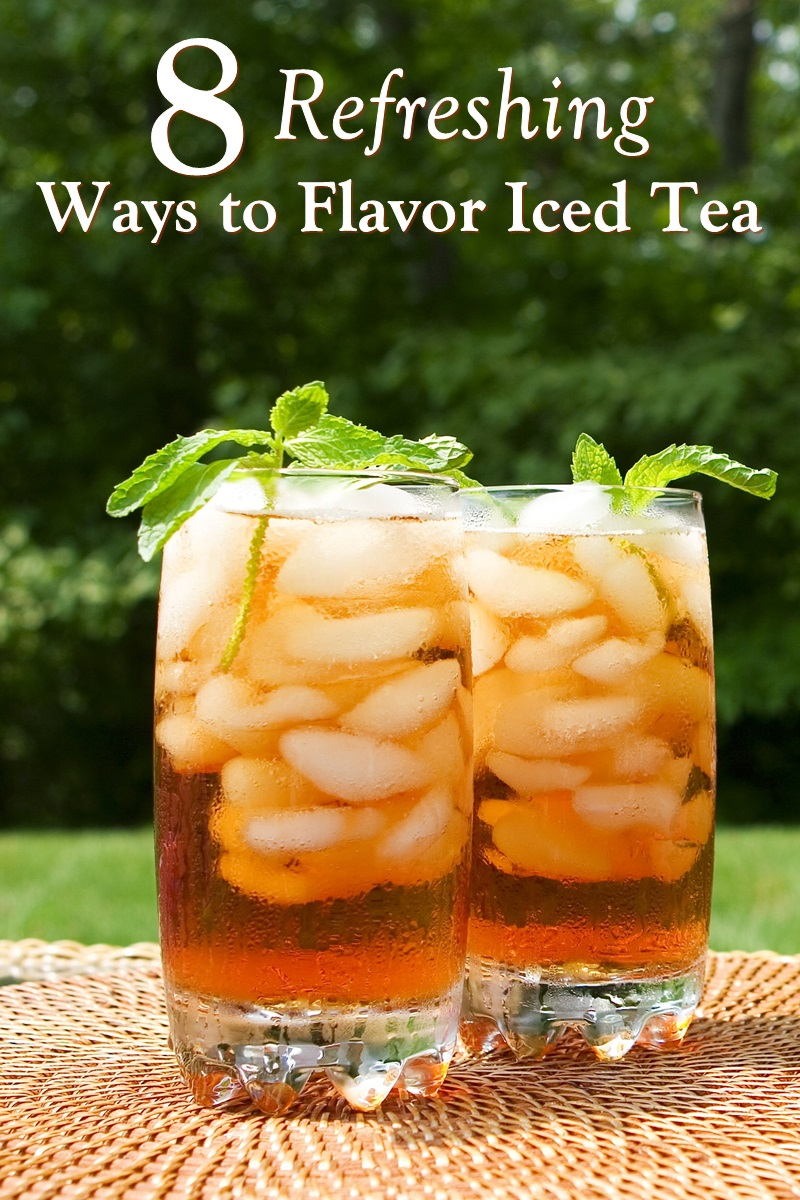 Basic Homemade Iced Tea Recipe with 8 Delicious Flavor Options. Allergy-friendly and refreshing!