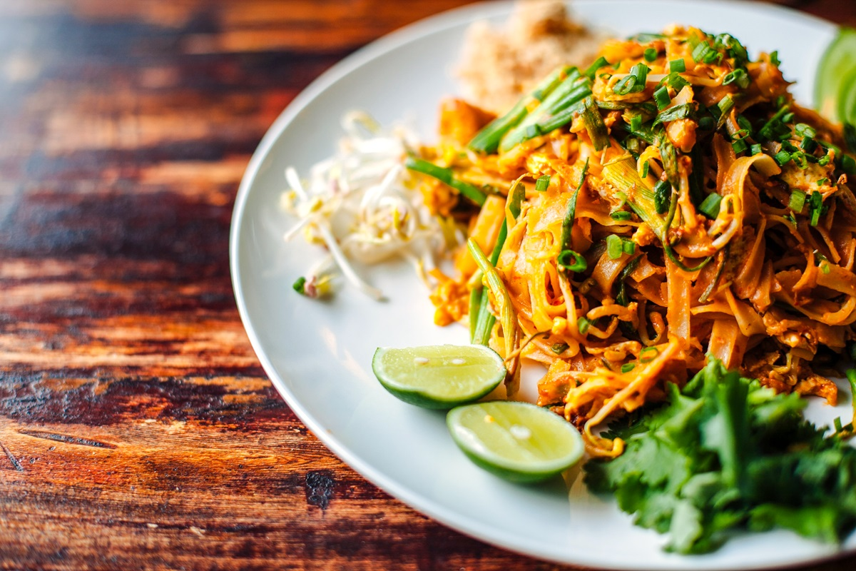 Plant-Based Asian Peanut Noodles Recipe with Gluten-Free Option