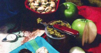 Healthy Pistachio Fig Bites - just 3 ingredients! (Vegan, Paleo)