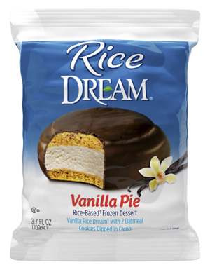 Rice Dream Pie - dairy-free ice cream treat (review)