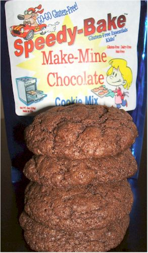 Speedy-Bake Make Mine Chocolate Cookies