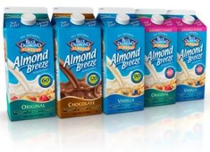 Almond Breeze Almond Milk Half Gallons - Dairy-Free