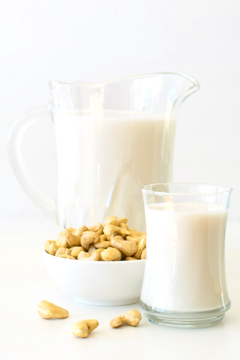 Homemade Dairy-Free Cashew Milk Recipe - This easy beverage is delicious and versatile! Clean ingredients, no additives, gluten-free, soy-free, grain-free + tips for making and using