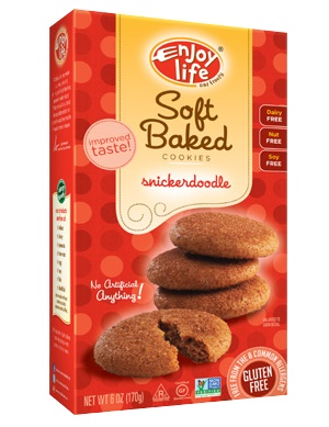 Enjoy Life Soft Baked Cookies Review - dairy-free, gluten-free, vegan and allergy-friendly