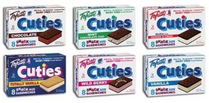 Tofutti Cuties Non-Dairy Frozen Sandwiches - Dairy-Free and Vegan