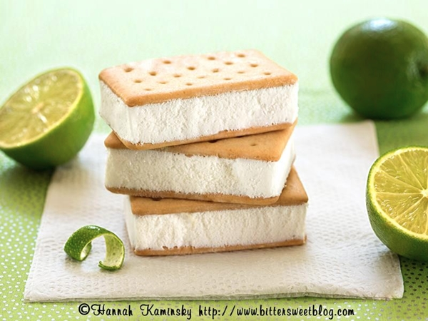 Tofutti Cuties Non-Dairy Frozen Sandwiches - Key Lime