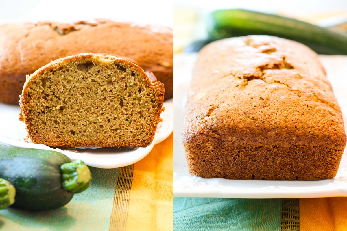 Best Zucchini Bread Recipe! Naturally dairy-free, optionally nut-free, and a neighborhood favorite.