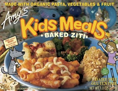 Amy's Baked Ziti Kids Meal