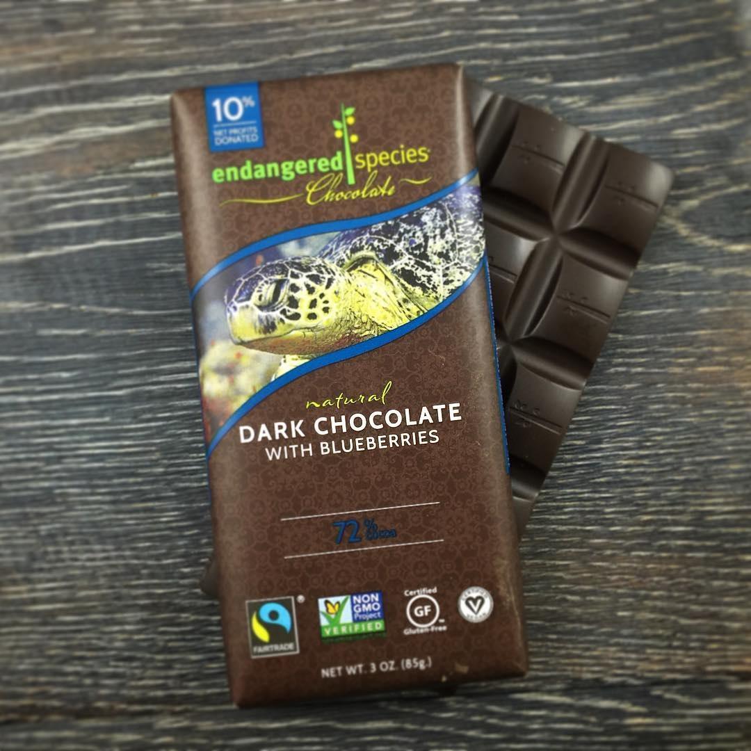 Endangered Species Dark Chocolate Bars Review: Vegan Varieties