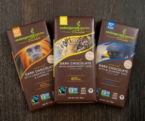 Endangered Species Dark Chocolate Bars Review