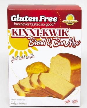 Kinnikinnick Baking Mixes - gluten-free, dairy-free, nut-free cakes, pancakes, bread, and more.