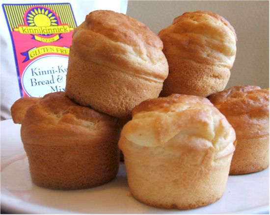 Kinnikinnick Baking Mixes (gluten-free, dairy-free, nut-free) - Kinni-Kwik Bread & Bun Mix Pictured
