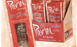 Primal Strips - Meatless jerky perfect for vegetarians and vegans!