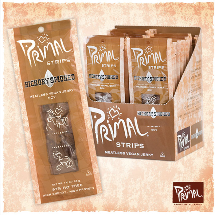Primal Strips - meatless vegan jerky!