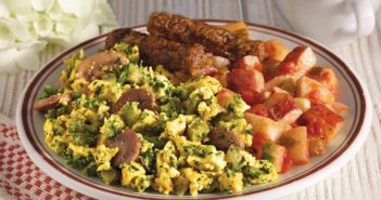 Amy's Frozen Breakfast Entrees Reviews and Info (Vegan Varieties) - healthy, plant-based scrambles served with veggie-forward sides. Also gluten-free.