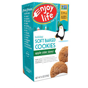 Enjoy Life Soft Baked Cookies Review and Info - including seasonal flavors! Vegan, gluten-free, top allergen-free. We have ingredients, nutrition, availability, ratings, and more info!